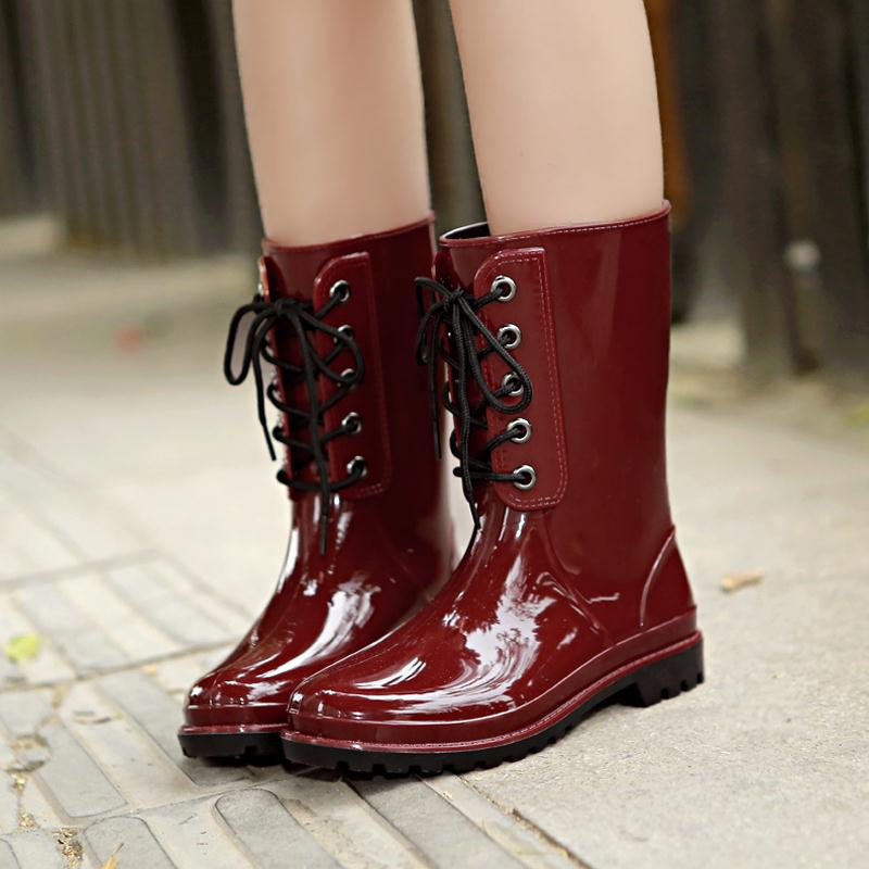 Popular Rain Boots Stylish-Buy Cheap Rain Boots Stylish lots from ...