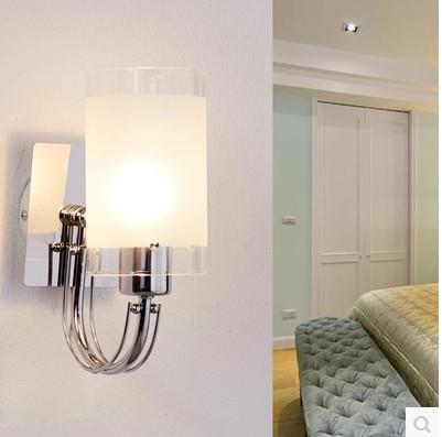 Modern led wall light bathroom light high quality Aluminum Case, Acrylic glass Wall Lamp bedroom living room house wall(China (Mainland))