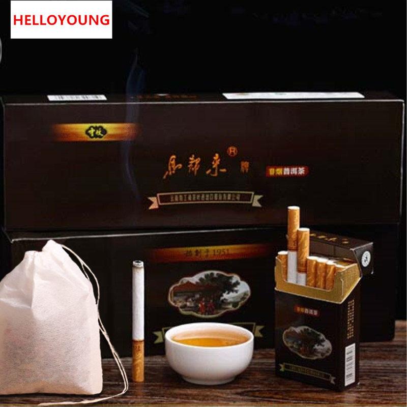 C-PE033 Hot Sale top grade yunnan puerh tea cigarettes no tobacco no nicotine weight Chinese puer tea(China (Mainland))