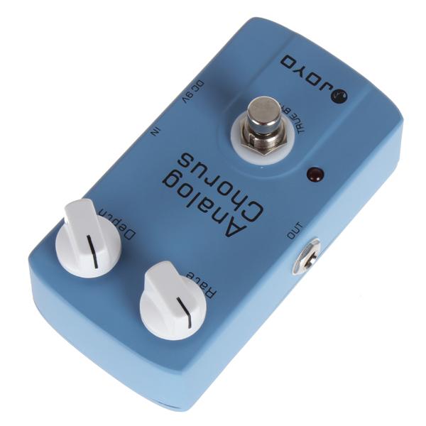 JOYO JF-37 Analog Chorus Guitar Audio Effect Pedal With True Bypass