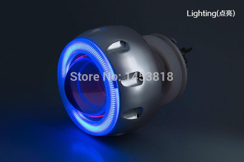 2.0ABC 35w 2 inch Motorcycle Hid Bixenon Projector Lens Headlight Kit 6000k 4300K Blue Green Red Yellow White CCFL Angel Eye<br><br>Aliexpress