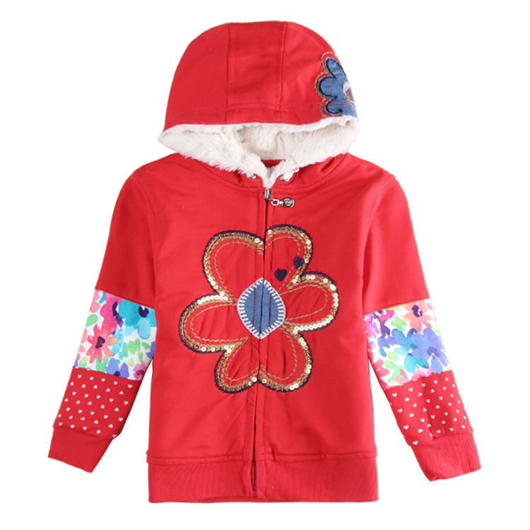 Girls Winter Coat Nova Kids Girl Jacket Baby Floral Girl Children Outerwear Coats Warm Baby Clothing F5201 <br><br>Aliexpress