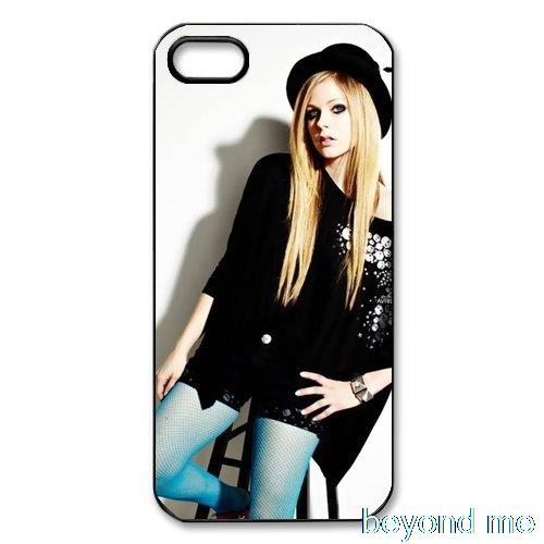 Avril Lavigne Hard Plastic Back Cover Case for iPhone 4 4s 5 5s 5c 6 Plus Cell phone Cases(China (Mainland))
