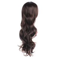 Недавно девушки моды женские природные пушистые большие парики полный волосы длинные вьющиеся волны Косплей парики lx0381