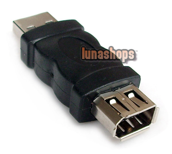 Firewire IEEE 1394 6 Pin Female to USB Type A Male Adapter Converter Connector LN002118(China (Mainland))