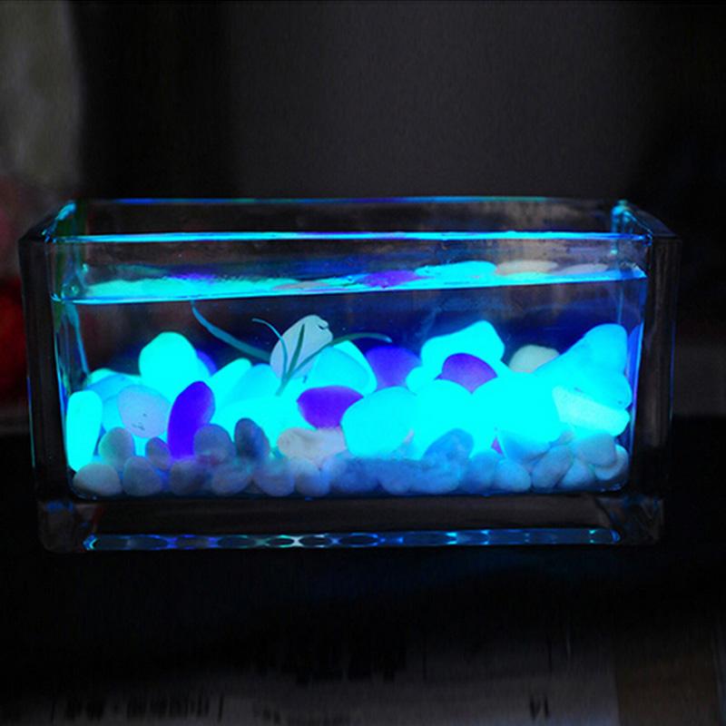 Aliexpress com  Koop 10 stks lichtgevende lichtgevende kiezel Aquarium Aquarium Decoratie
