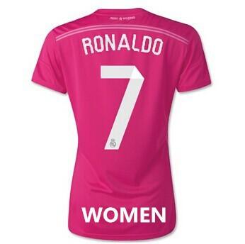 Реал 14/15 женщин третьего Джерси aaa