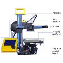 Mini Creality DIY 3D Printer 1 75mm High Density Home Personal Desktop Kit