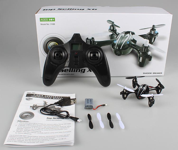Hubsan X6 h 107c Radio Remote Manage  Mini Quadcopter Drone Plane with Digital camera Micro SDHC Video Recording Flashing easy (8)