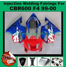 Buy Free screws+gifts Fairing kit for HONDA INJECTION mold CBR 600 F4 fairings 1999 2000 Blue Red I9880 CBR600 99 00 for $375.25 in AliExpress store