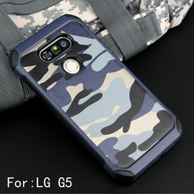 Buy Army Camo Camouflage Pattern Case LG G5 Armor Shockproof Hard PC + Soft Silicon Cover LG G5 SE H868 H830 F700S Shell for $4.54 in AliExpress store