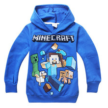 2015 new boys and girls hooded sweater two color optional big virgin spot a generation of fat