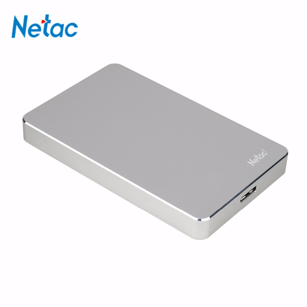 Clearance! Luxury Metal Business Style Netac K330 USB 3.0 External Hard Disk 500GB HDD External Hard Drive with Retail Packing(China (Mainland))