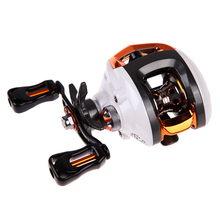 Fishing Reels 12+1 BB Ball Bearings Spinning Reel Baitcasting Reel Fishing Fly with Magnetic Brake System 6.3:1 Left Hand BHU2(China (Mainland))