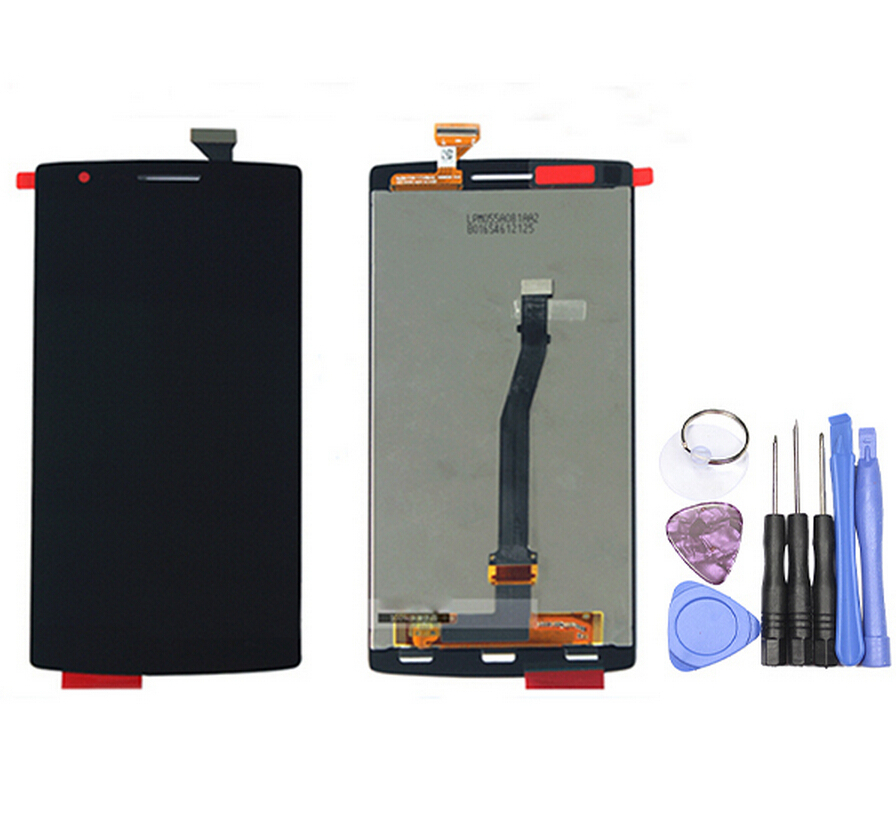 New Original Genuine Touch Screen Display for Oneplus one LCD Touch Screen Digitizer Front Assembly Replacement Tested & QC(China (Mainland))