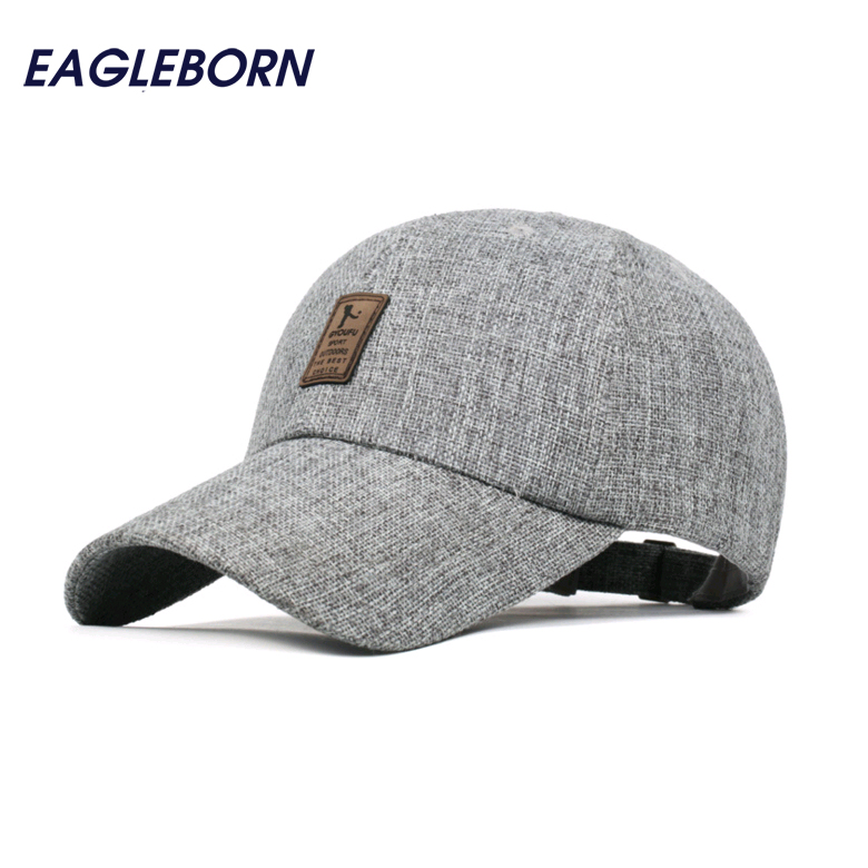 Breathable Linen Golf Logo Baseball Cap Men Hat Cap 2016 Outdoor Sport Casquette Brand Baseball Snapback hats For Women(China (Mainland))