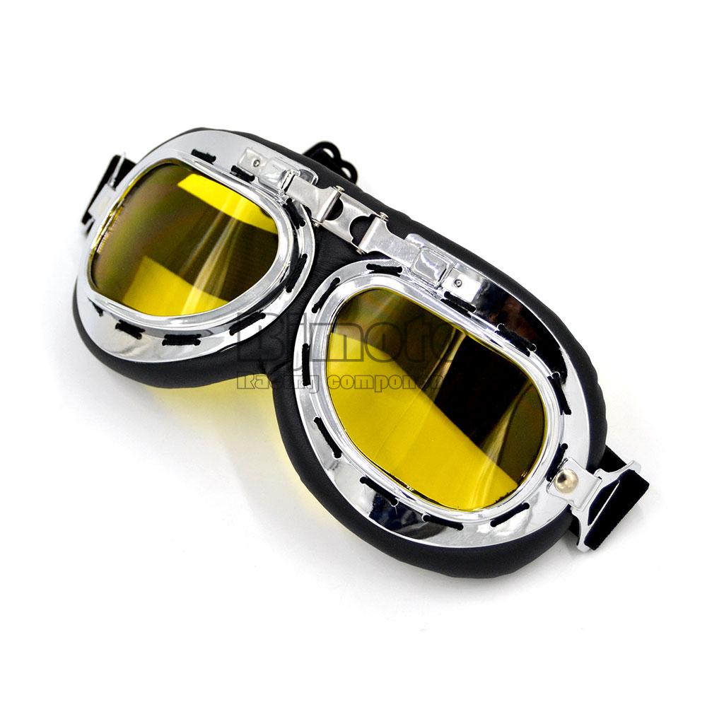 Scooter Goggle Glasses T01A Pilot Ski Motorcycle Bike ATV Goggle 5 Lens Color(China (Mainland))