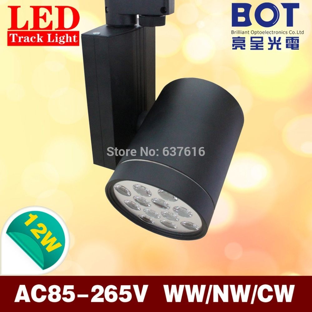 12 1w high power led track lamp spotlight bulb ac85 265v boutique store clothing shop lighting The light bulb store