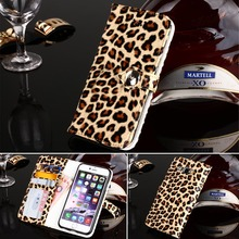 A5 & A8 Women Luxury Sexy Leopard Pattern Leather Phone Case For Samsung A5 A8 Card Slot Cover Bag+Card slots+Wallet bag
