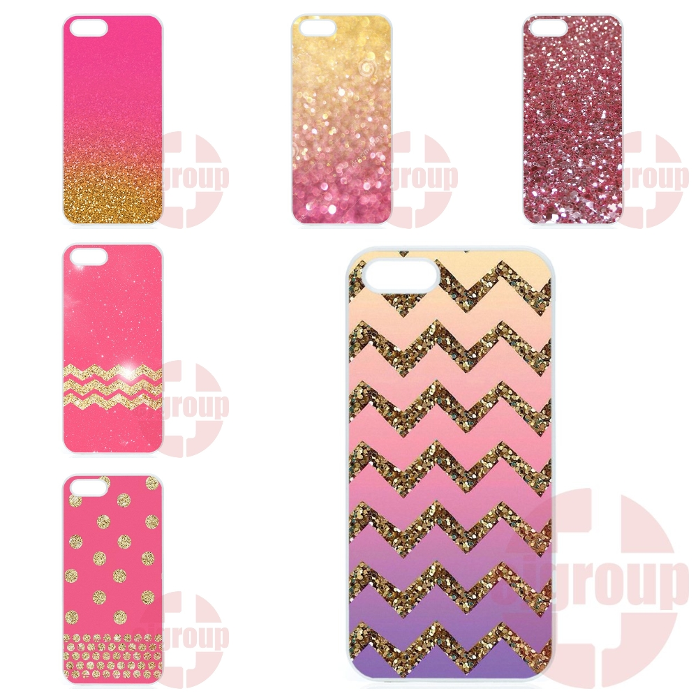 Gold Pink Glitter Skin Painting Cover Case For Motorola Moto X Play X2 G G2 G3 G4 Plus E 2nd 3rd gen Razr D1 D3 Z Force(China (Mainland))