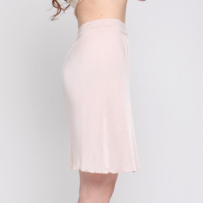 Women 100% Pure Mulberry Silk Slip Charmeuse Half Slip Petticoat Underskirt Underdress(China (Mainland))