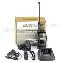 BaoFeng 128CH UHF&VHF 136-174MHz / UHF 400-480MHz FM Digital Intercom Interphone Radio Dual Band portable radio Walkie Talkie