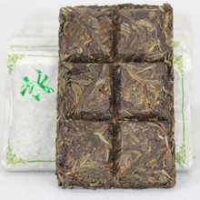 Puer tea black 2012 production of pure brick tea coca refined chinese tea raw puer chinese