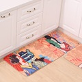 Newly Door Mat Japanese Style Carpet Kitchen Bathroom Anti Slip Rug Indoor House Living Room Floor