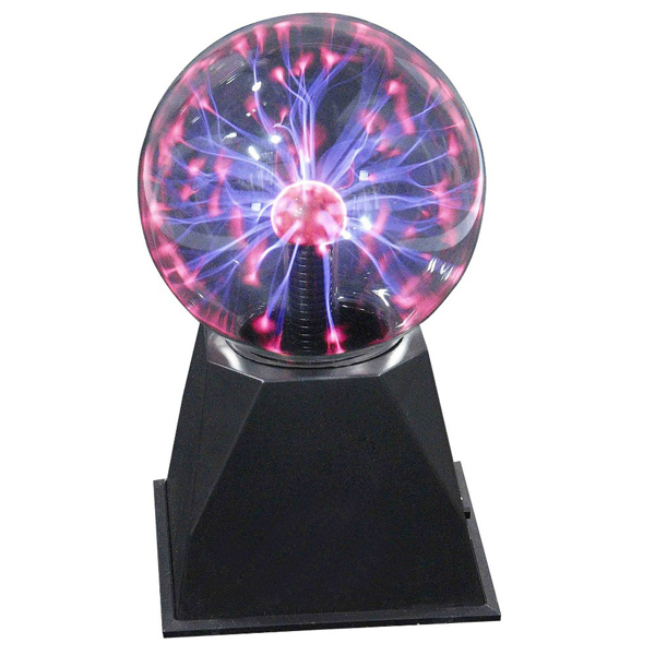 Free Shipping Brand New Magic Glass Plasma Ball Sphere Gift Box Lighting Lamp(China (Mainland))