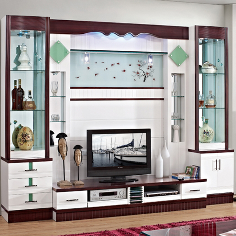 Fashion Wine Glass Cabinet Office Display Cabinet