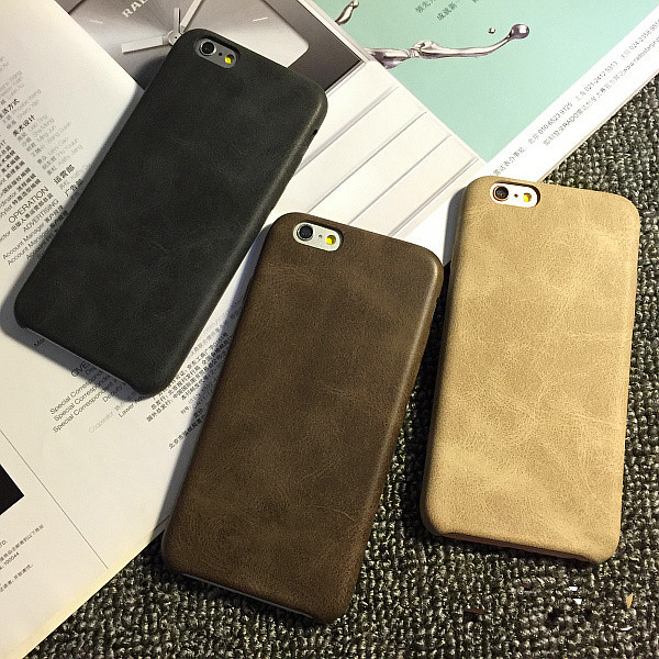 for iphone 6 6s 6 plus 6s plus case Cortex soft case 6s full package false leather for men and women case capa(China (Mainland))