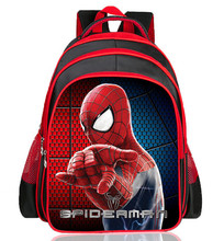 Hot Cartoon Spiderman Backpacks For Kids Children School Bags Primary Backpack Boy mochila