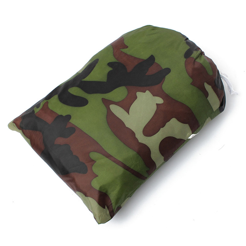 New Stylish PU Coatin Dustproof/Waterproof Camouflage Motorcycle Scooter Covering Outdoor UV Protection 265*105*125cm Cover Bike(China (Mainland))