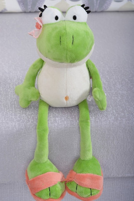 2016 New Nici The Frog Prince Cute Frog Plush Toy 38cm Children Lovers Birthday Christmas Present Free Shipping 1pcs Animal Doll(China (Mainland))