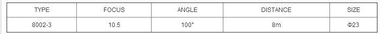8002-3 Fresnel lens body infrared sensor switch PIR lens New