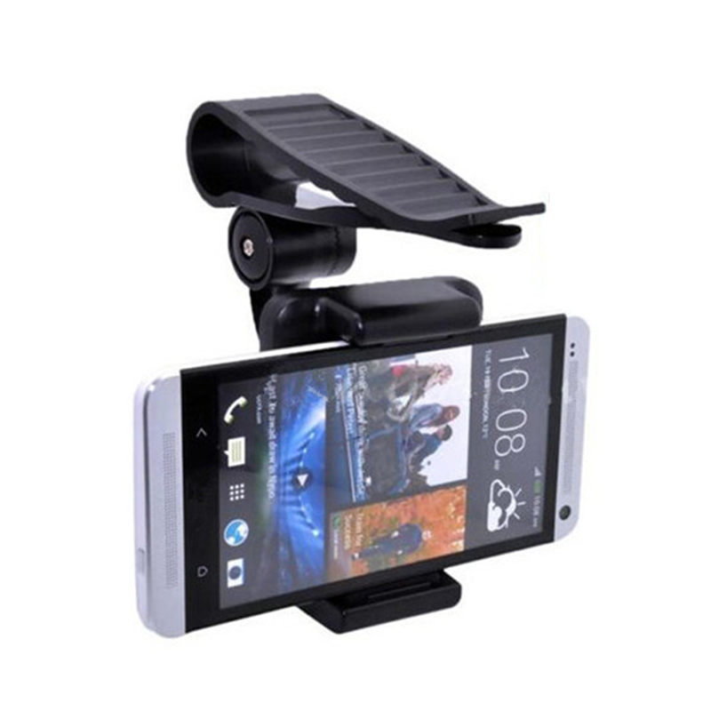 Hot Sale Universal Car Sun Visor Phone Mount Holder Stand For Iphone 6 5S 5 For Samsung Galaxy S3 S4 Holder GPS Stand(China (Mainland))