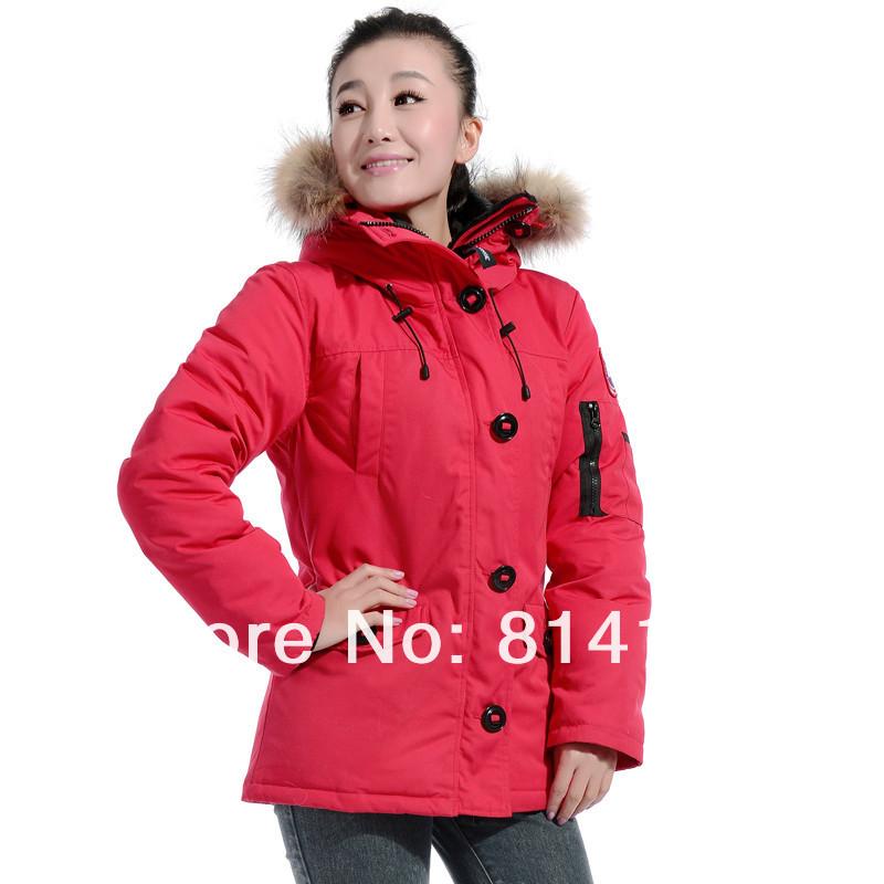 free shipping newest popular outdoor winter coat Women parka jacket, parka coat down jacket ,red short jacket, down coat,jacket(China (Mainland))