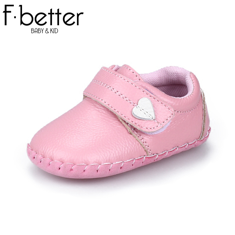 Fbetter First Walkers For Newborn Baby Girls/Boys Summer Shoes Genuine Leather Hook&loop Shoes 7 size Free Shipping(China (Mainland))
