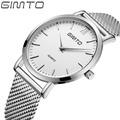 2016 brand business casual fashion slim steel men s watch Men s quartz watch dial clock