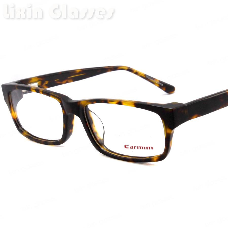 New Demi Color Women/Man Fashion Design Glasses Frame Carmim Brand Clean lens Acetate Eyeglasses Optical Eyewear RM00450(China (Mainland))