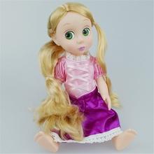 Newest 2015 Princess Rapunzel dolls Christmas birthday gift for Girl 30cm(China (Mainland))