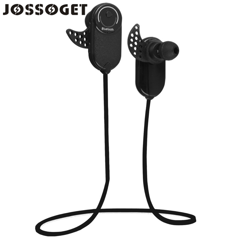 JOSSOGET 803 Bluetooth V3.0 + EDR Wireless Sports Earphone Stereo Headset For Mobile Phone Support Laptop Smartphone Music Black(China (Mainland))