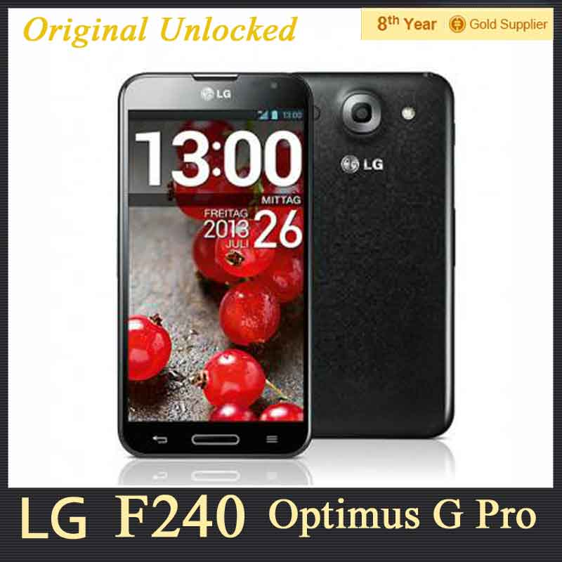 F240 Unlocked Original LG Optimus G Pro F240L F240s F240k F240 Android phone Quad core 2G RAM 32G ROM 13MP WIFI 4G Refurbished(Hong Kong)