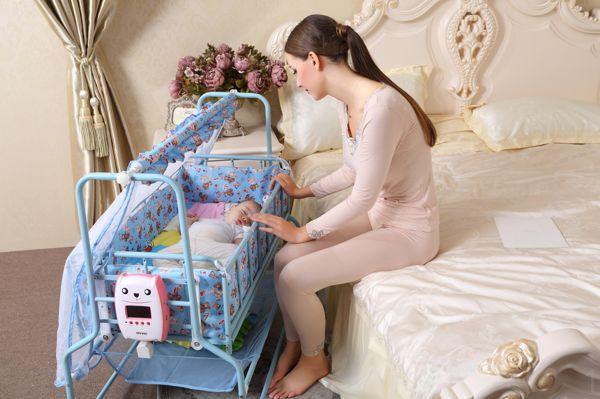 baby sleep swing to crib 2