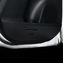 Toyota RAV4 RAV-4 2013 2014 2015 Anti-kick Car Door Film Interior Protection Rhino skin carbon fiber - Best Auto Parts From Factory store