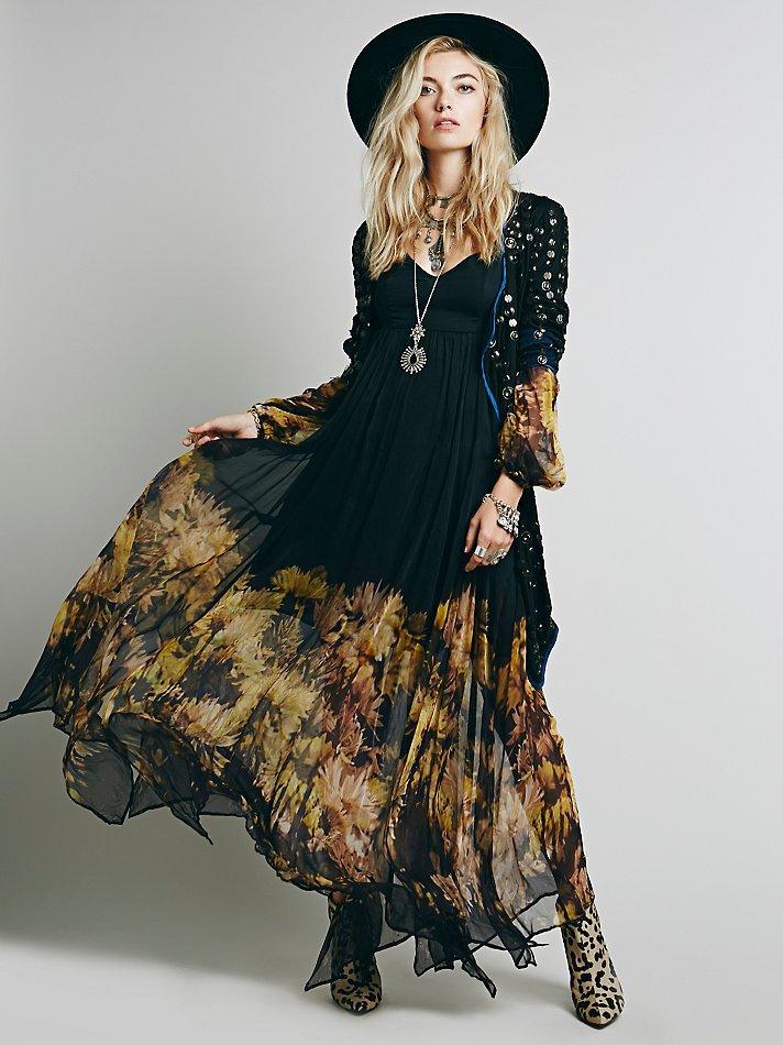Long plus size summer dresses