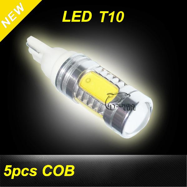Newest Universal 7.5W COB Car LED T10 car led light bulb 194 168 192 W5W lamp Styling High quality Free Shipping(China (Mainland))