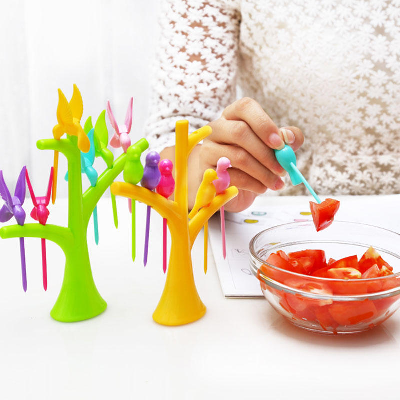 2016 Fashion Tableware New Creative Birds Plastic Fruit ...
