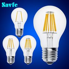 Buy 10pcs Antique A60 LED Edison Bulb E27 E14 Vintage LED Bulb Lamp 220V Retro LED Filament Bulb Candle Bulb Spotlight for $27.50 in AliExpress store