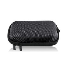 Portable Travel Case Elliptical EVA Storage Cases Headphone Case for USB Chargers Cables Headphone Cable Mp3 Mp4(China)